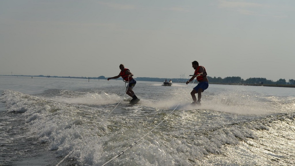 Wakeboarders