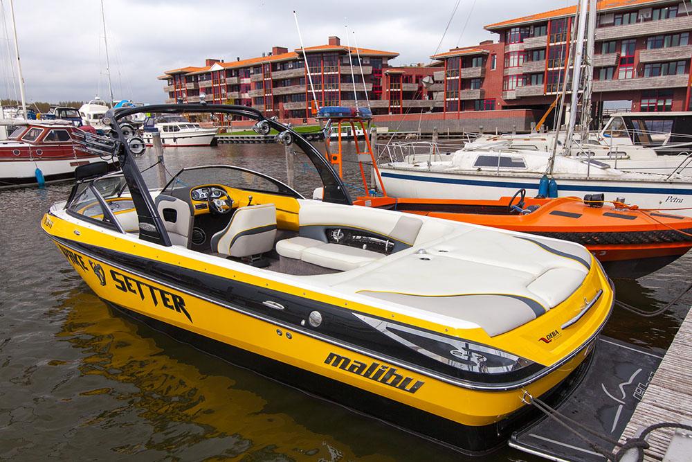 speedboot huren optie b
